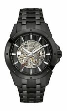 New Bulova 98A147 Automatic Black Ion Stainless Steel Men's Watch