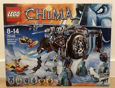 LEGO Legend of Chima 70145 Maula's Ice Mammoth Stomper set Brand New