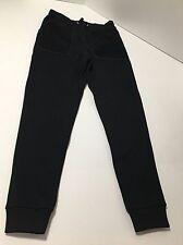 Zoe Karssen Daphne Groeneveld Black Caviar Jogger Sweat Pants Size Small New Tag