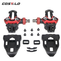 Costelo Carbon Road Bike carbon titanium Ti bicycle pedals only 163g with cleats
