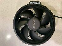 AMD Ryzen 5 Processor Cooler Fan for 1500X 1600 2600X 3600X 3400G CPU's - Opened