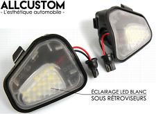 MODULES AMPOULES LED BLANC SOL SOUS RETROVISEURS PUISSANT pour VW SCIROCCO 2008<