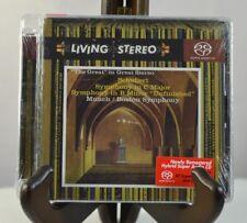 NEW Schubert: Symphonies Nos. 8 & 9 (Super Audio Hybrid CD, 2007, RCA Red Seal)