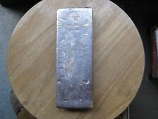 Poured 100 oz Silver Bar Johnson & Matthey London Ultra Rare - Low Mintage 250