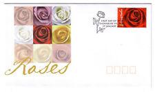"2006 FDC Australia. Roses. Rose PictPMK ""THORNBURY"""