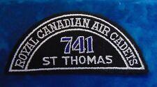 CANADA Royal Canadian Air Cadets ST THOMAS 741 squadron shoulder flash