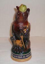 German Beer Stein Fox Hunter Fuchs Als Jaeger Made in Germany 827