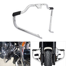 Chrome Mustache Engine Guard Bar Fit For Harley Softail Heritage Classic 2018-19