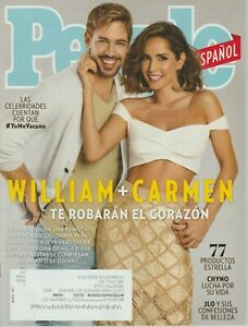 People Magazine EN ESPANOL Marzo 2021 March 2021 William + Carmen