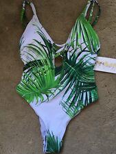 Tinibikini Swimmwear Suit Ladies Elastic Adjustable Size Xs-s New