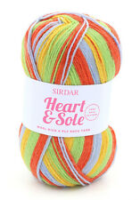 SIRDAR Heart & Sole Wool Rich 4 Ply Sock Yarn Color 101