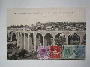 1933 ALGERIA CONSTANTINE POSTCARD