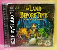 Land Before Time: Return Playstation 1 2 PS1 PS2 Game Complete Mint Disc 1 Owner