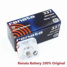 Renata Single Watch Battery Swiss Made Renata 337 or SR416SW 1.55V Fast Shipping