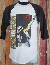 Original Michael Jackson Pepsi Bad 1988 Concert Tour Jersey 50/50 T Shirt Large