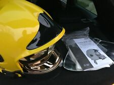 MSA GALLET FIRE FIREMAN'S HELMET F1E Type B YELLOW SIZE 58 NEW!