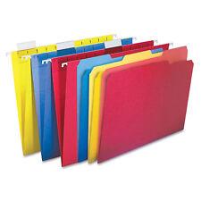 Pendaflex Essentials Combo Kit Hanging File Folders 1/3 Tab Letter Assorted 12