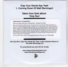 (GF262) Clap Your Hands say Yeah, Coming Down - 2014 DJ CD