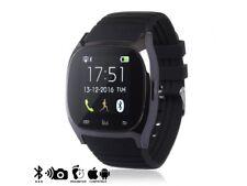 Smartwatch Timesaphire 2 Notificaciones para IOS y Android Negro