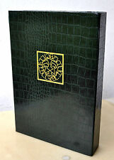 Claves Regni Nikolai Saunders Signed Deluxe #45/96 Enochian Grimoire Fall Of Man