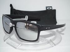 OAKLEY MACHINIST SLIVER SUNGLASSES OO9262-26 MATTE BLACK / CHROME IRIDIUM