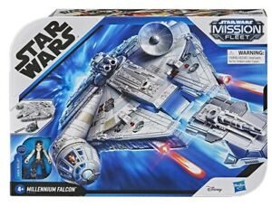 Star Wars Mission Fleet Deluxe Millenium Falcon
