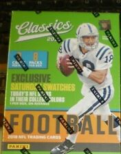 2018 Classics Football Sealed Blaster Box 8 Packs of 8 NFL Cards 1 hit