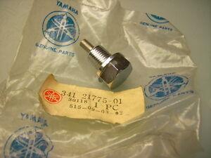YAMAHA 341-21775-01 TX 750 OIL DRAIN PLUG MAGNETIC MAGNETISCH ÖL ABLASS SCHRAUBE