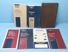 94 1994 Ford F-Series/F-250/F-350/F-450/F-550/Super Duty owners manual w/Diesel