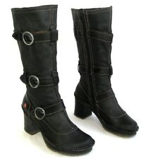 ART - Boots heels + plateau all leather black 37 - EXCELLENT CONDITION