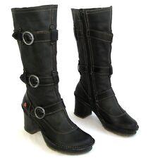 ART - Bottes talons + plateau tout cuir noir 37 - EXCELLENT ETAT