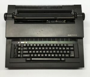 Olivetti Praxis 40 Electronic Typewriter Carry Case Pre-owned S37