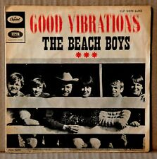 45t The Beach Boys - Good Vibrations