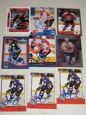 LOT OF 40 AUTOGRAPHED RICO FATA HOCKEY CARDS