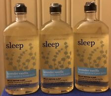 Bath and Body Works Aromatherapy Sleep Lavender Vanilla 10 Oz Body Wash