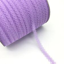 10 Yards Handicrafts Embroidered Net Lace Trim Ribbon DIY Wedding Crafts
