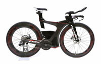2017 Cervelo P5X Disc Ultegra Di2 Carbon Fiber TT / Triathlon Bike HED Small