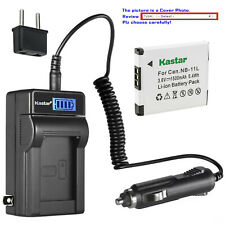 Kastar Battery LCD Travel Charger for Canon NB11L Canon PowerShot A2300 A2300 IS