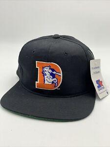 Denver Broncos Black Dome Starter Snapback Hat NWT New NFL nwa 90s plain logo