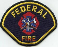 FEDERAL San Diego CALIFORNIA CA FIRE PATCH