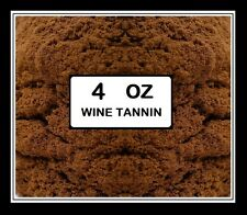 WINE TANNIN BIG OLE 4oz BULK PACK CROSBY & BAKER BSG TYPE FOR FRUIT & GRAPE WINE