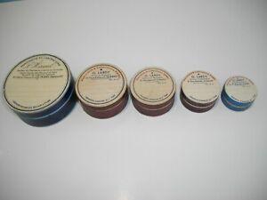 5 Anciennes boites gigognes - pharmacie G.lardy - laboratoire Hamel Le Mans