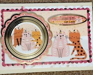 Favourite cat lady, Card for cat lover, Funny cat card, Funny birthday card