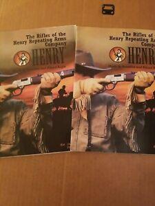 Henry Firearms Magazine Brochure Lot