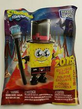 SDCC Comic Con 2015 Exclusive Spongebob Squarepants Mega Bloks Mini Figure Rare