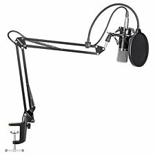 Recording Microphone Broadcasting Youtube Professional Studio Condenser Stand