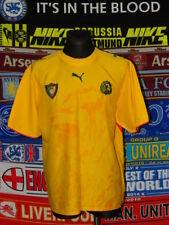 2574594262d 4.5/5 Cameroon adults XXL 2006 away football shirt jersey trikot camiseta