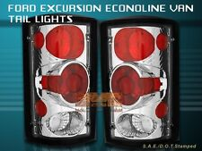 2000-2006 FORD EXCURSION 1995-2006 E SERIES ECONOLINE TAIL LIGHTS CLEAR