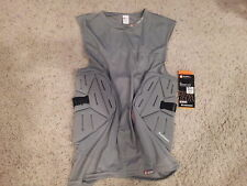 Shock Doctor 537 Shockskin 3 Pad ADULT XL  Sleeveless Impact Shirt,NWT, football