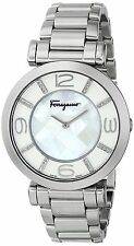 Salvatore Ferragamo Women's FG3050014 GANCINO DECO Stainless Steel Diamond Watch